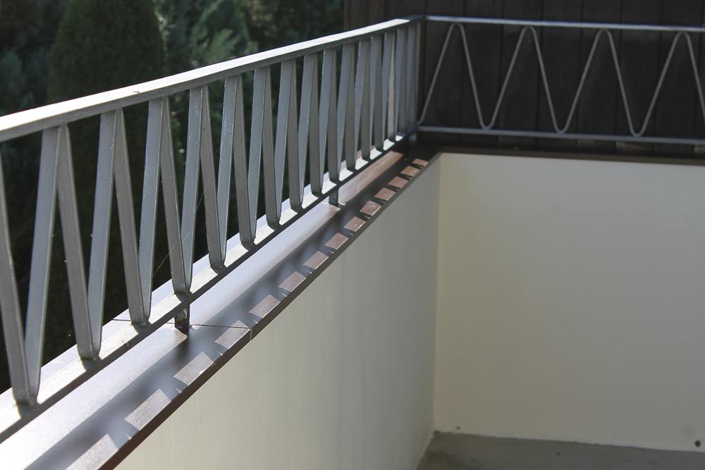 Protection rampe de balcon