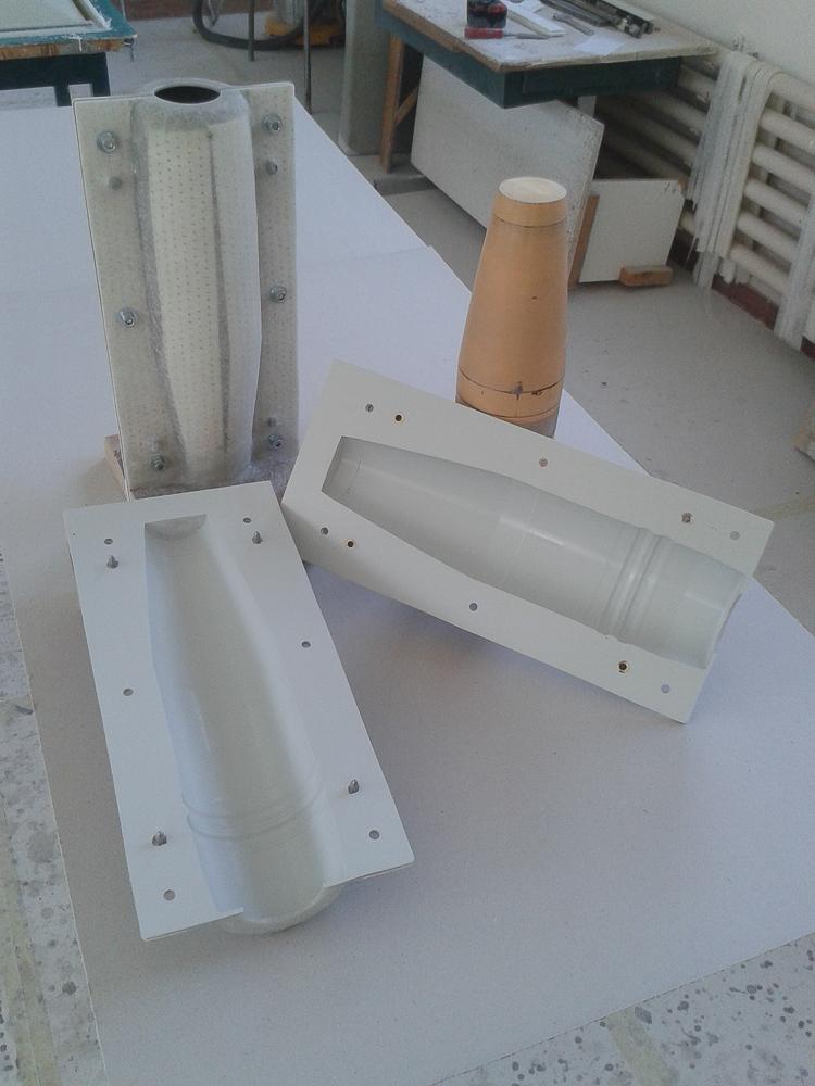 Moule pour reproduction d'obus